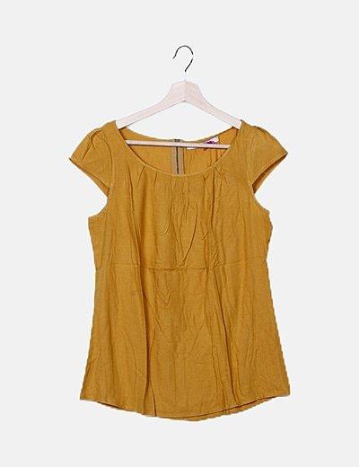 Blusa amarilla tirantes