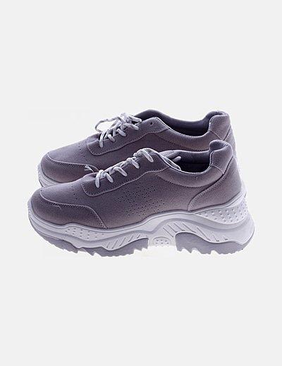 Zapatillas sneakers grises