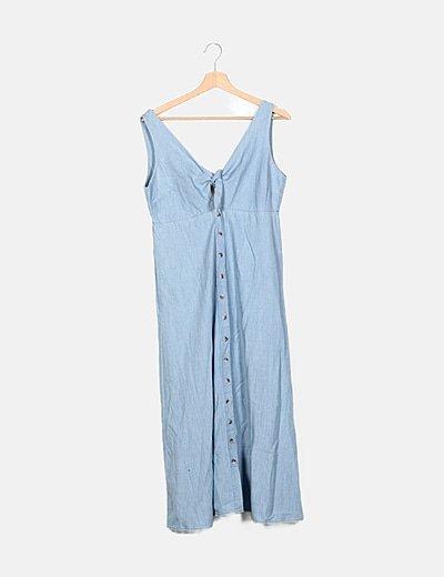 Vestido maxi Pull&Bear