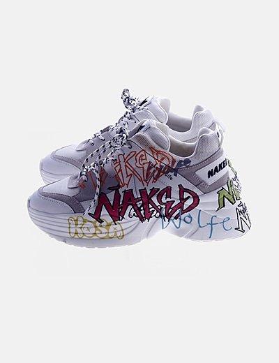 Zapatillas sneakers print