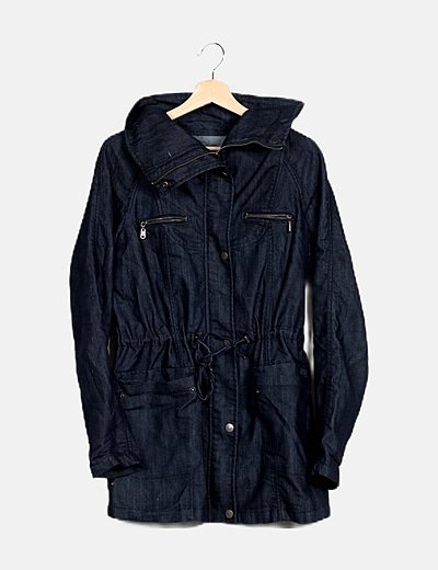 Parka denim oscura
