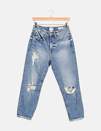 Jeans azul ripped