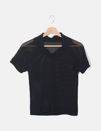 Polo negro red