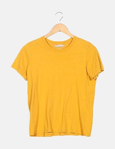 Camiseta amarilla basic
