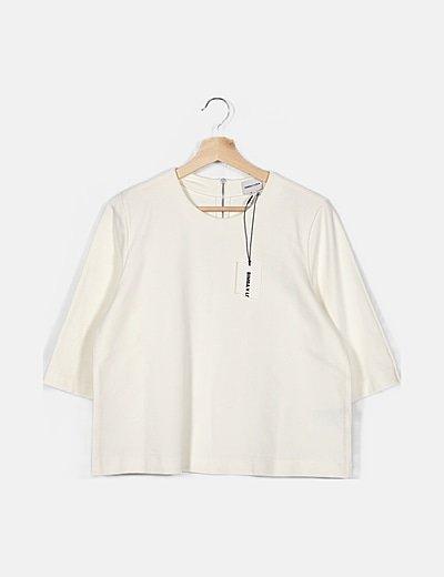 Camiseta blanca gruesa