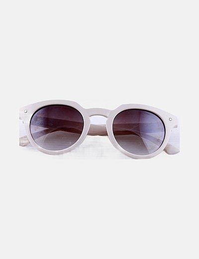 Gafas de sol montura nude