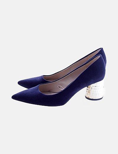 Zapato azul marino antellina