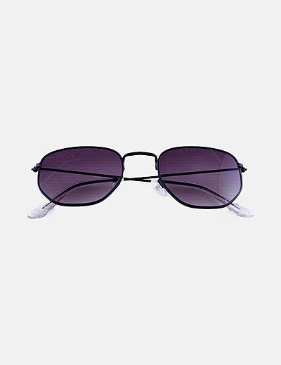 Gafas de sol cristal negro