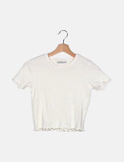 Camiseta blanca ceñida