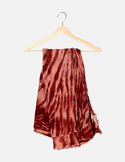 Pañuelo bicolor tie dye