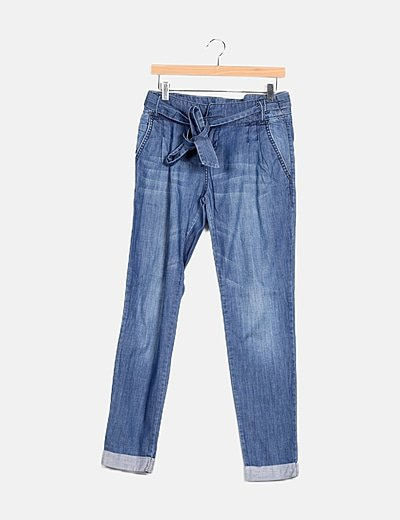 Pantalon denim baggy