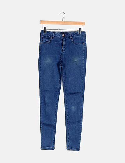 Pantalon denim pitillo