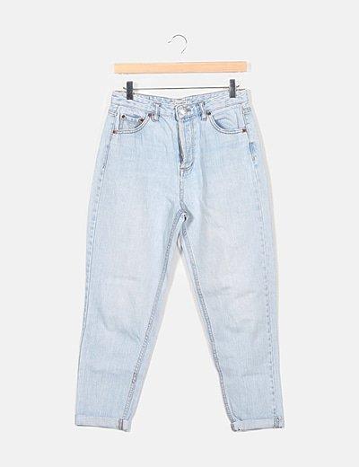 Jeans azul mom
