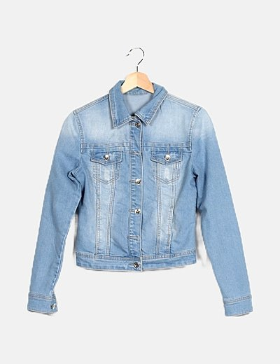 Chaqueta denim azul