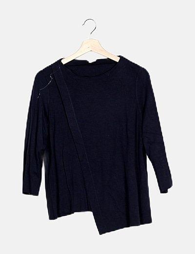 Camiseta básica azul marino