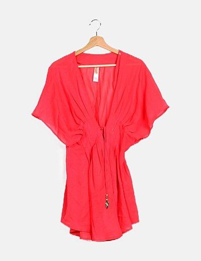 Kimono rosa fucsia