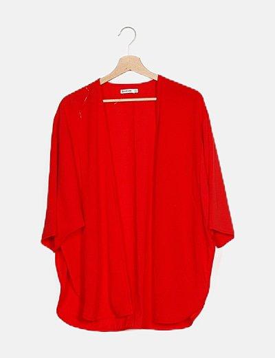 Kimono rojo básico