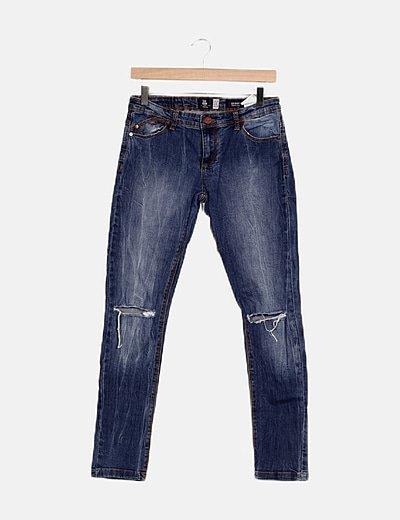 Pantalón denim skinny
