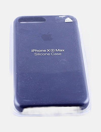 Funda iphone XS max azul marino