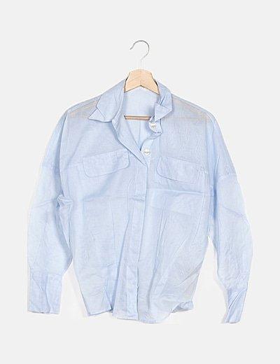Camisa azul básica