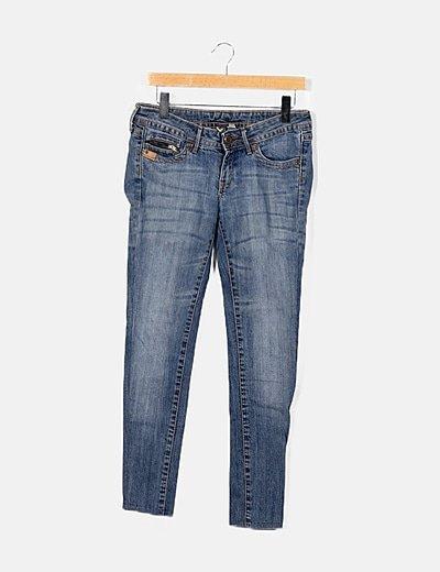 Jeans azul skinny