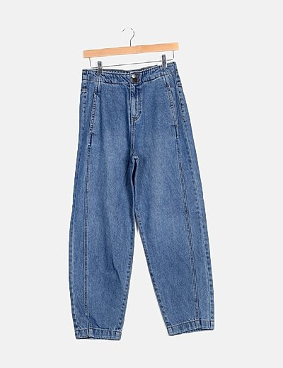 Pantalón denim mom