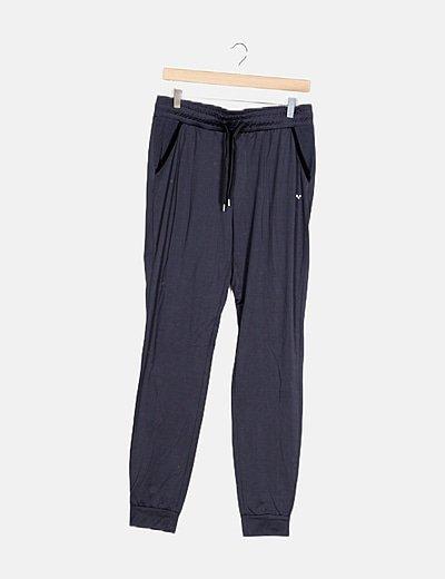 Pantalón gris azulado chándal