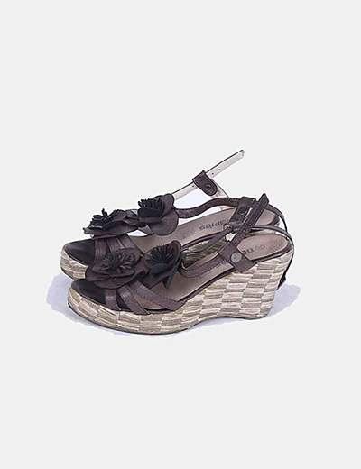 Sandálias de tacão DosPies