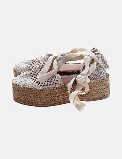 Sapatos com plataforma Star love