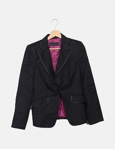 Conjunto blazer y pantalón negro