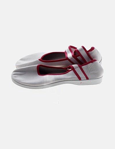 Zapato blanco lace up