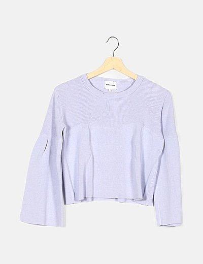 Jersey color lila combinado