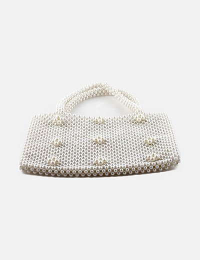Bolso mini perlas
