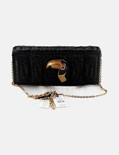 Bolso mini negro tucán