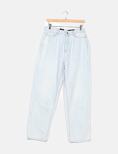 Jeans azul campana