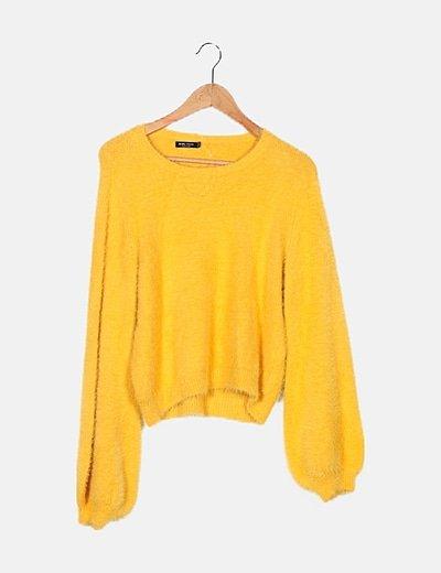Jersey amarillo desflecado