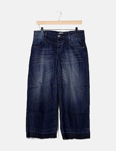 Jeans efecto desgastado deflecados