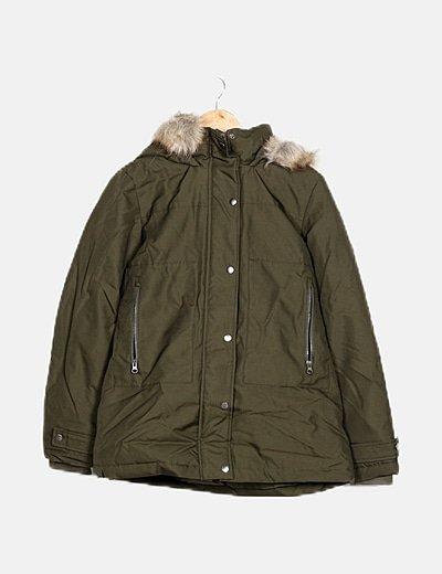 Abrigo verde pelo