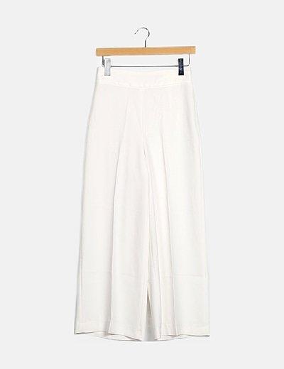 Pantalón fluido blanco