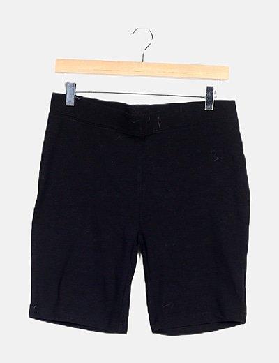 Legging negro corto