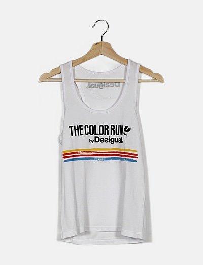 Camiseta blanca fit