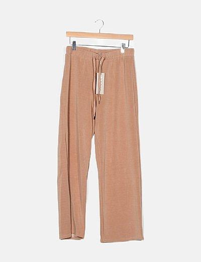 Pantalón culotte nude