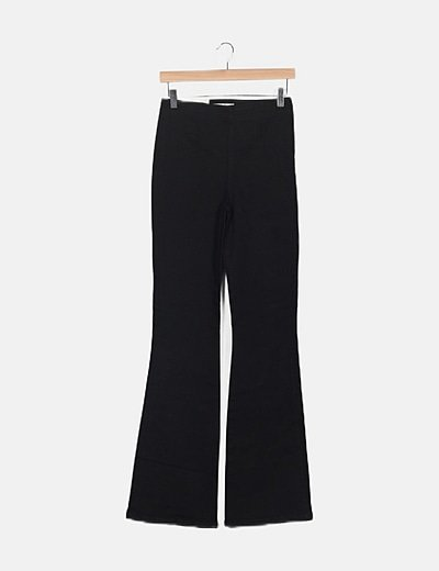 Jeans negro campana