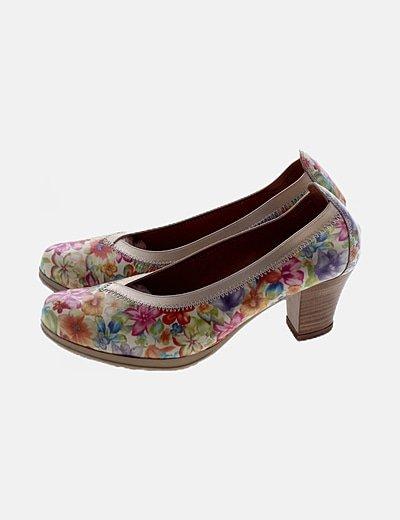 Zapato floral