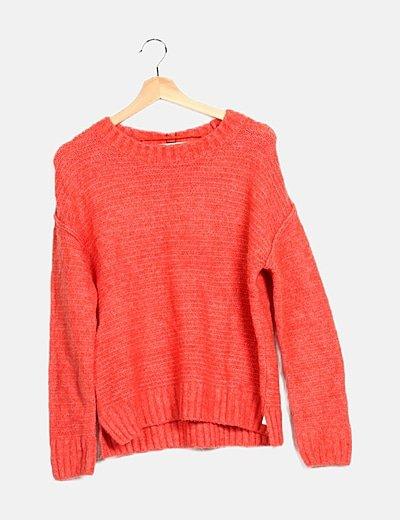 Jersey tricot naranja