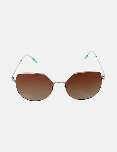 Gafas de sol lentes marrones polarizadas