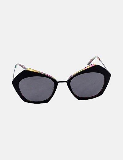 Gafas combinadas negras polarizadas