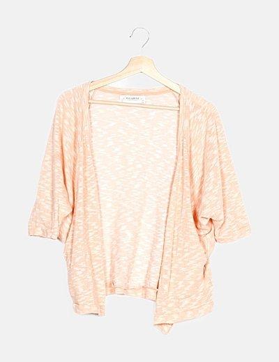Kimono tricot rosa