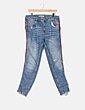 Jeans denim detalle banda lateral Zara