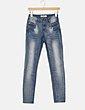 Pantalón denim azul pitillo ONLY